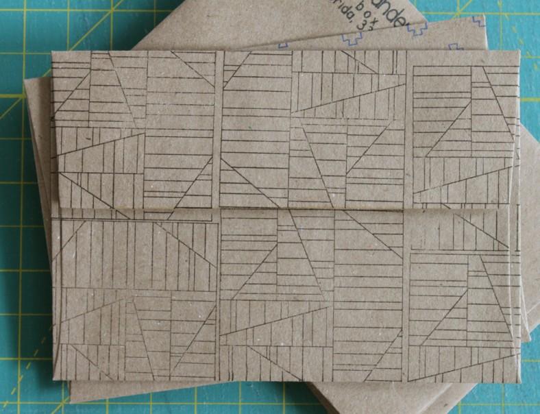 aerial envelope carolyn friedlander