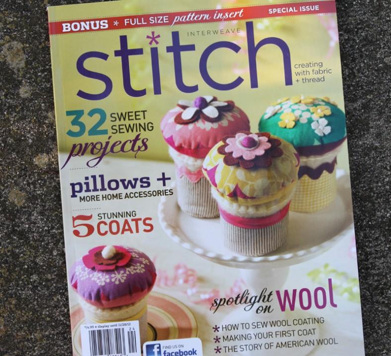 stitch magazine winter 2012