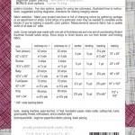 Stripes quilt pattern by carolyn friedlander back cover