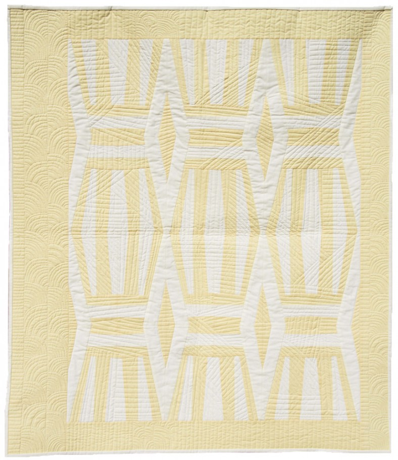 stripes neutral quilt_carolyn friedlander