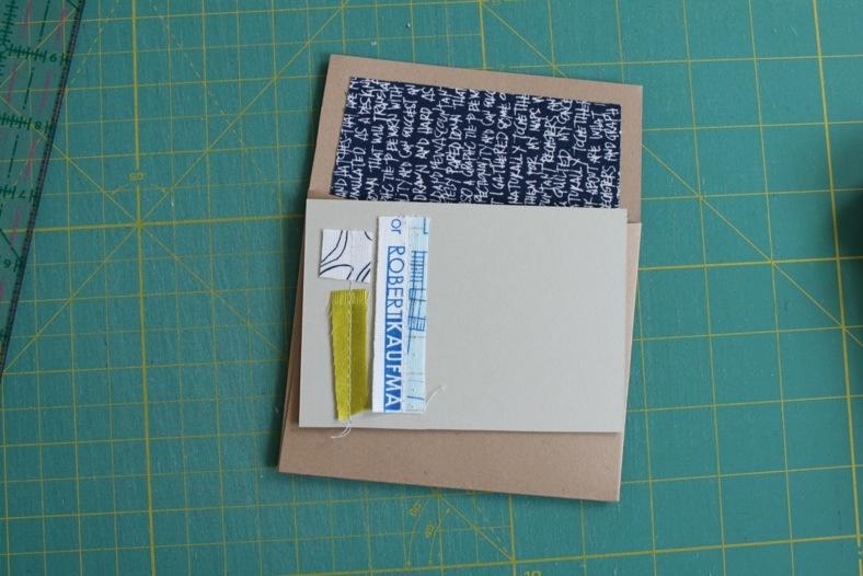 scrappy notecard