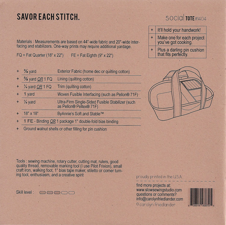 social back cover_slow sewing studio