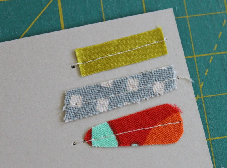 swatched card