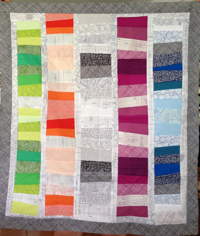 laurie hall_architextures quilt
