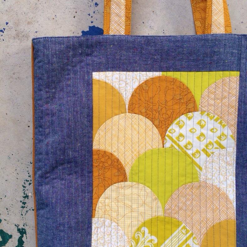 yellow clam bag_carolyn friedlander