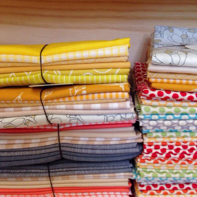 fabric bundles at purl soho
