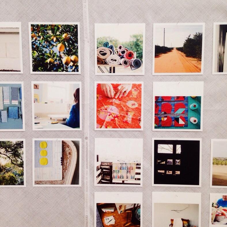 Photo wall assembly_Carolyn Friedlander