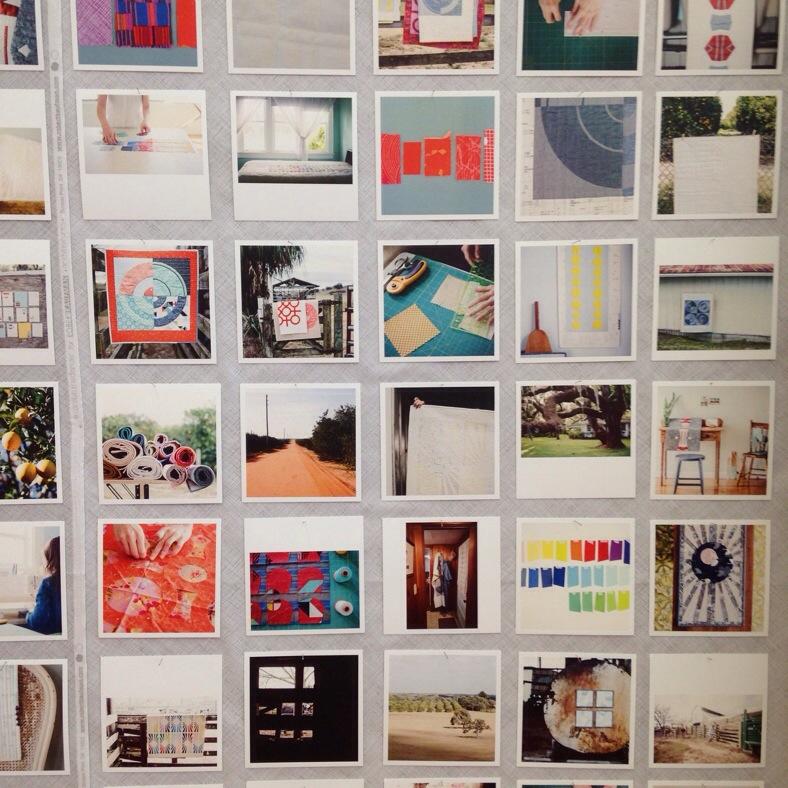 Carolyn Friedlander_Savor Each Stitch photo wall
