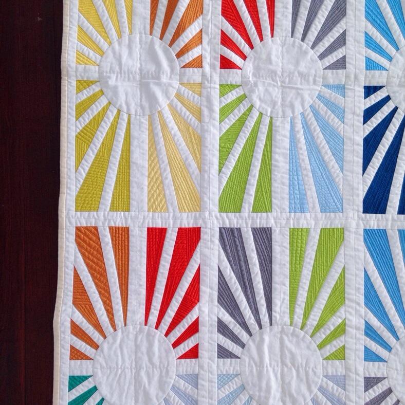 Facing East quilt by Carolyn Friedlander_Savor Each Stitch