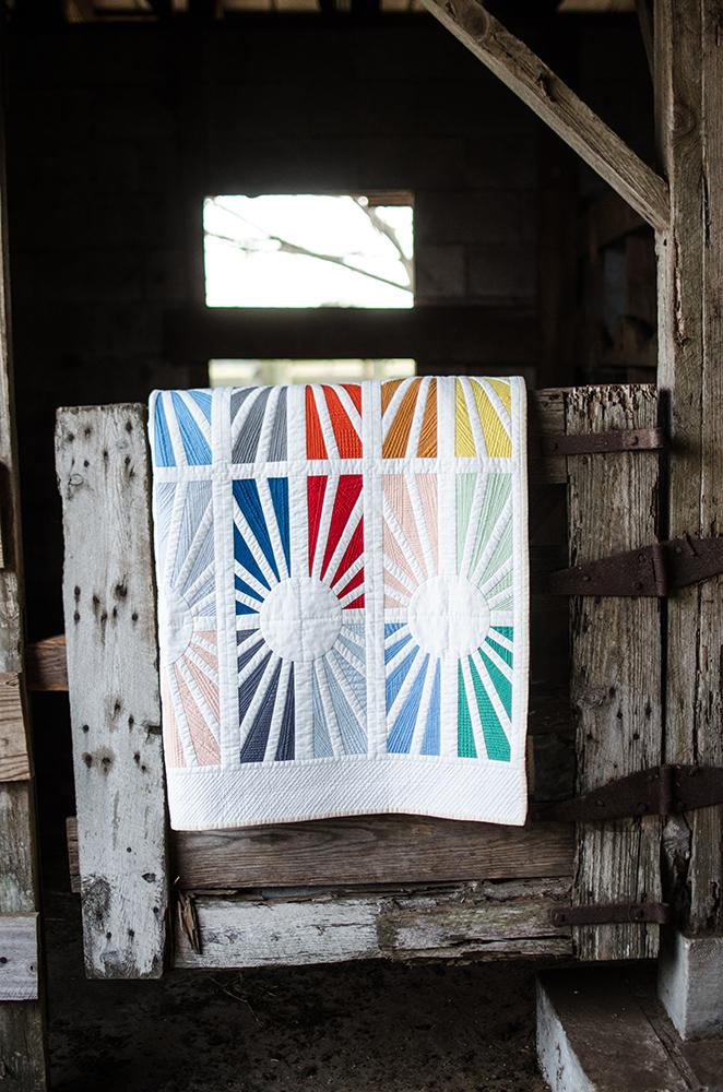Facing East quilt_snippet_Carolyn Friedlander_Savor Each Stitch