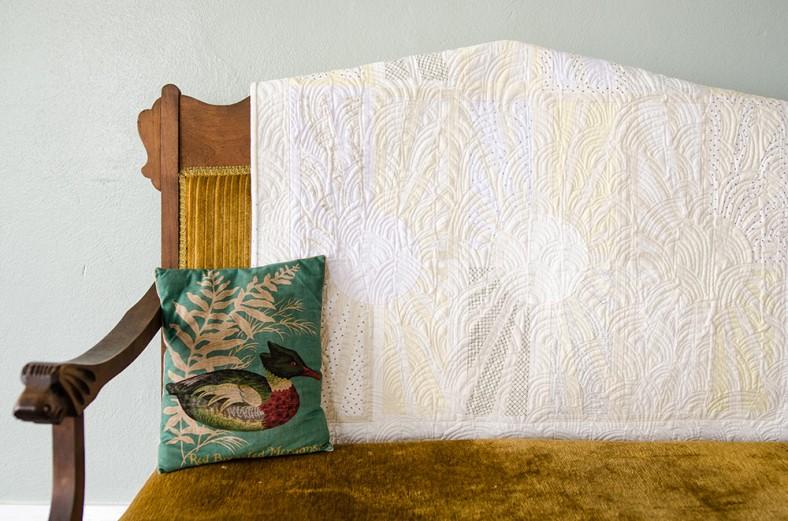Facing East quilt_white snippet_Carolyn Friedlander_Savor Each Stitch