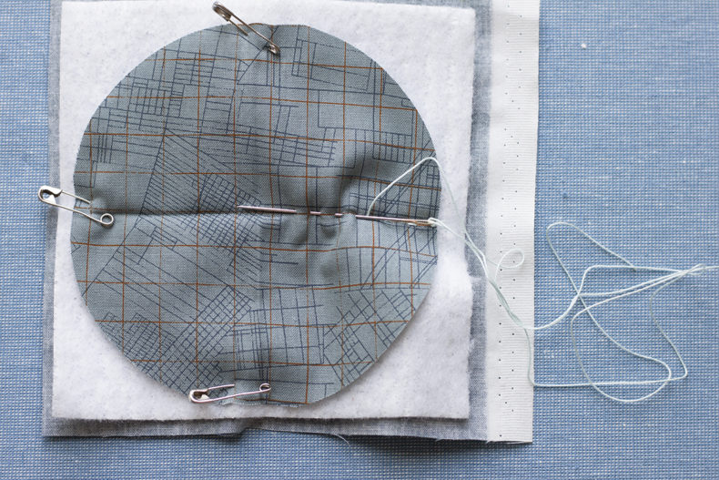 big stitch coasters tutorial . carolyn friedlander