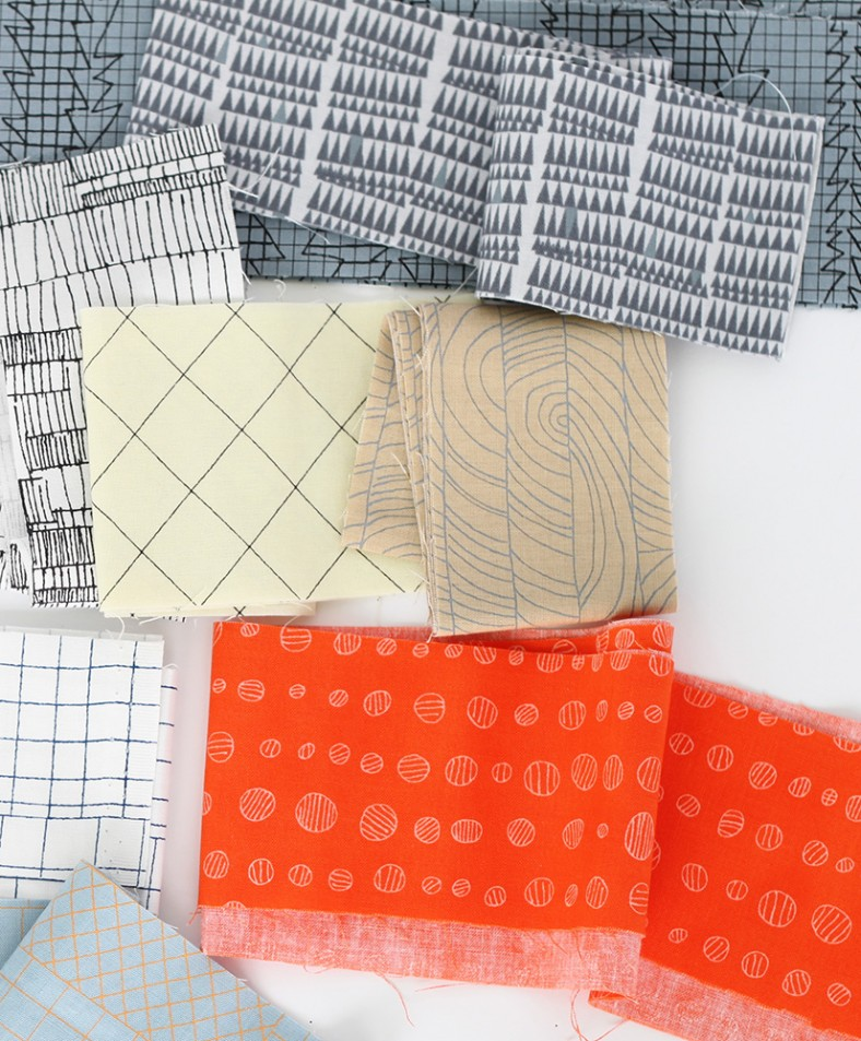 doe fabric collection snippet_1_carolyn friedlander for robert kaufman