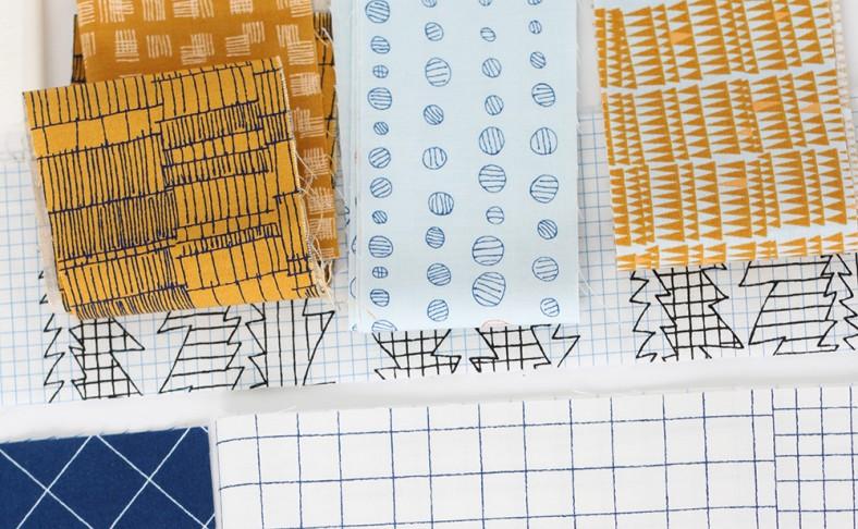 doe fabric collection snippet_3_carolyn friedlander for robert kaufman