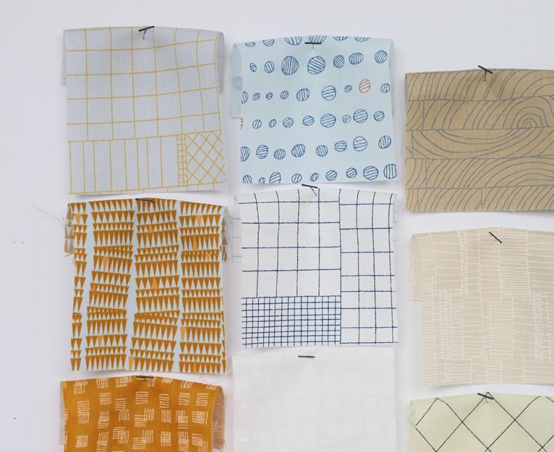 doe fabric collection swatches_2_carolyn friedlander for robert kaufman