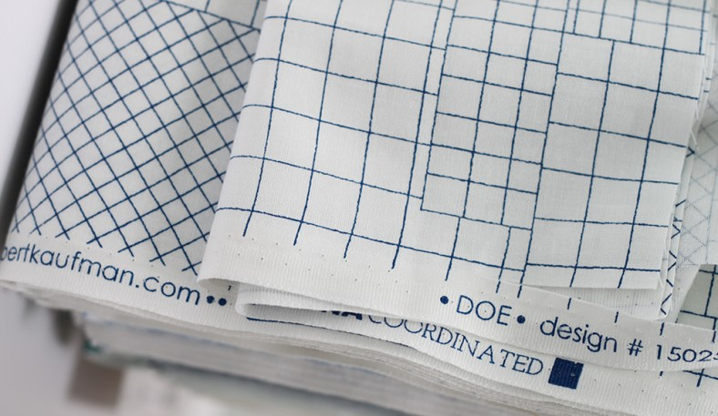 doe fabric selvege_carolyn friedlander for robert kaufman