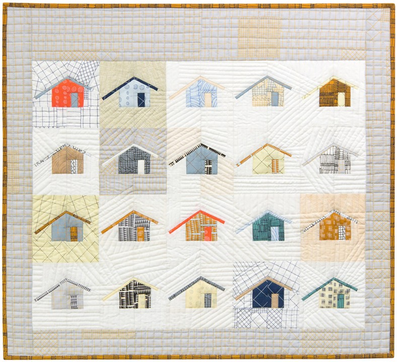 Doe Outhouse Quilt_Carolyn Friedlander