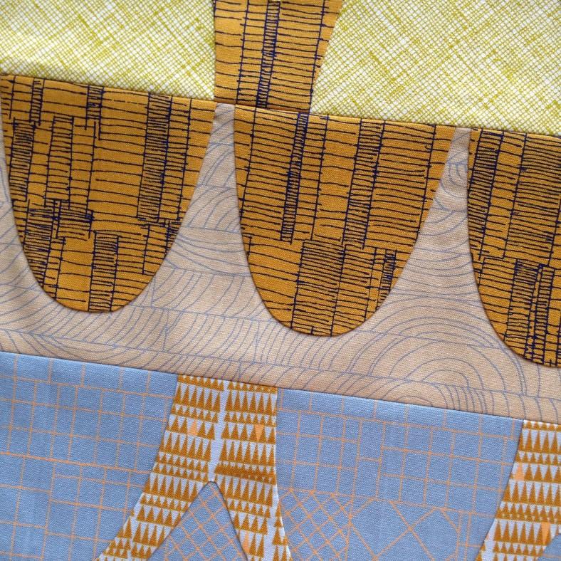 doe catenary in progress by carolyn friedlander