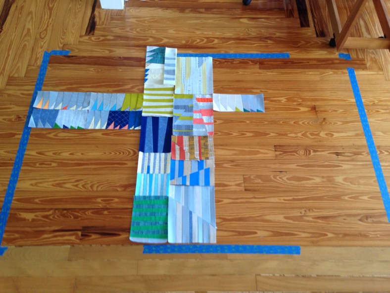 doe couch quilt making_carolyn friedlander