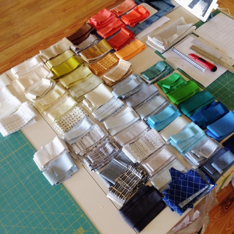 doe fabric and kona cotton solids_carolyn friedlander