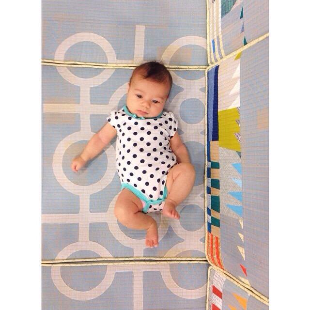 Doe couch baby_Carolyn Friedlander