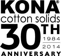 Kona Cotton Solids 30th Anniversary