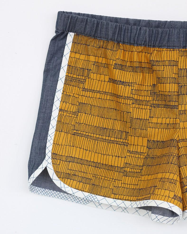 doe city gym shorts_detail_carolyn friedlander