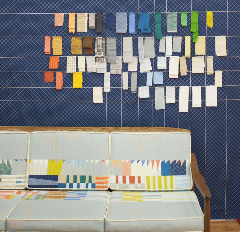 doe couch and fabric swatches_carolyn friedlander
