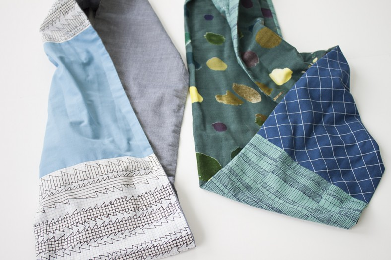 doe fabric infinity scarves detail_carolyn friedlander