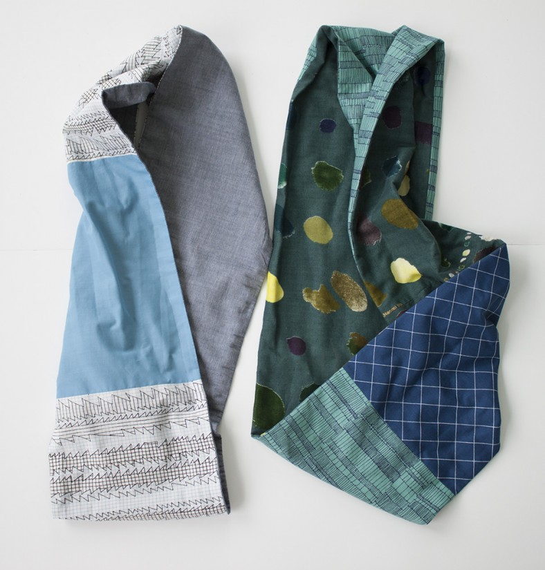 doe fabric infinity scarves_carolyn friedlander