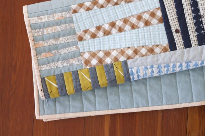 Totem quilt for Laurie_10_Carolyn Friedlander