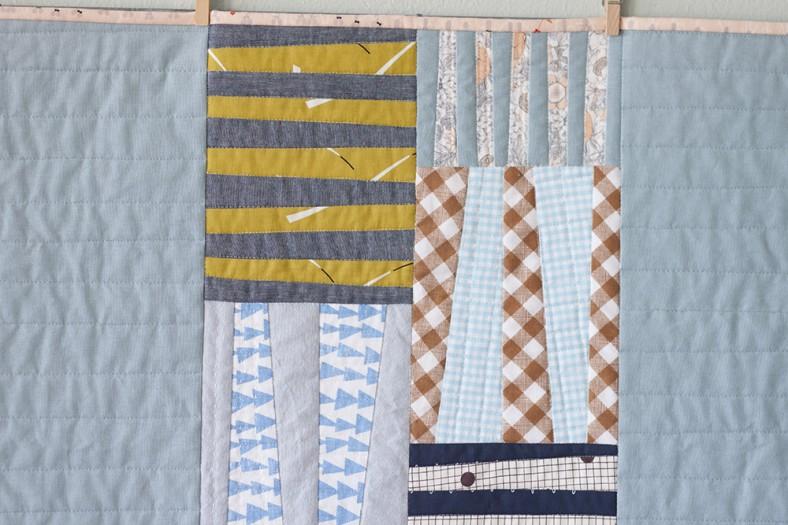 Totem quilt for Laurie_14_Carolyn Friedlander