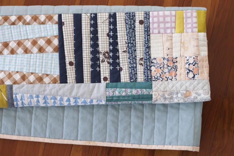 Totem quilt for Laurie_15_Carolyn Friedlander