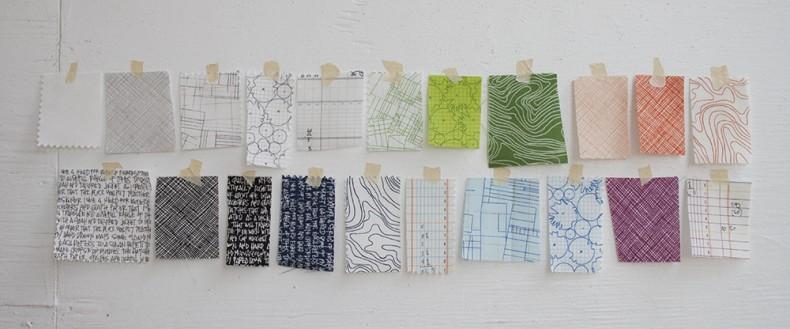 architextures fabric swatches_carolyn friedlander