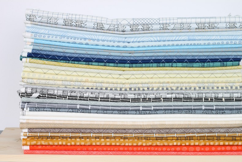 doe fabric stack_carolyn friedlander for robert kaufman
