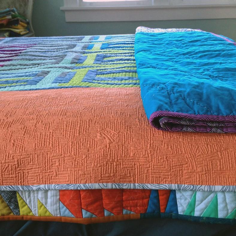 focal and stripes quilts_carolyn friedlander
