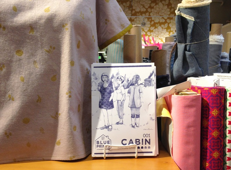 Cabin blouse at Fancy Tiger Crafts