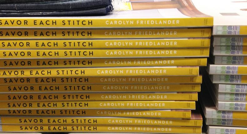 Savor Each Stitch book_Carolyn Friedlander