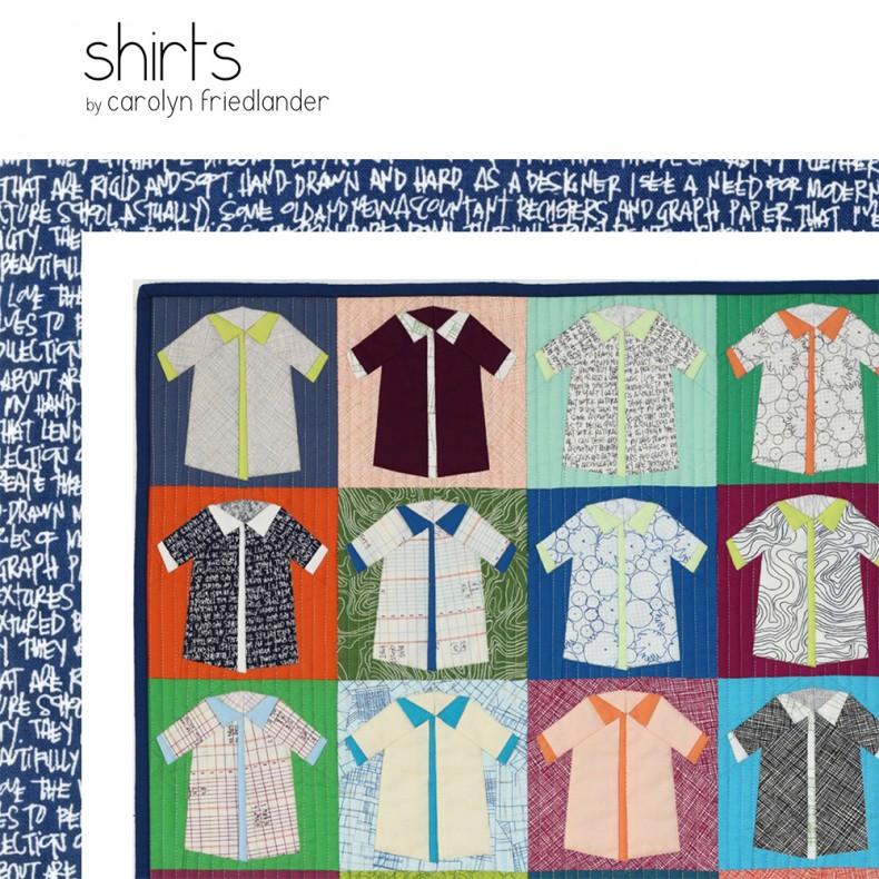 Shirts Quilt Pattern snapshot_Carolyn Friedlander