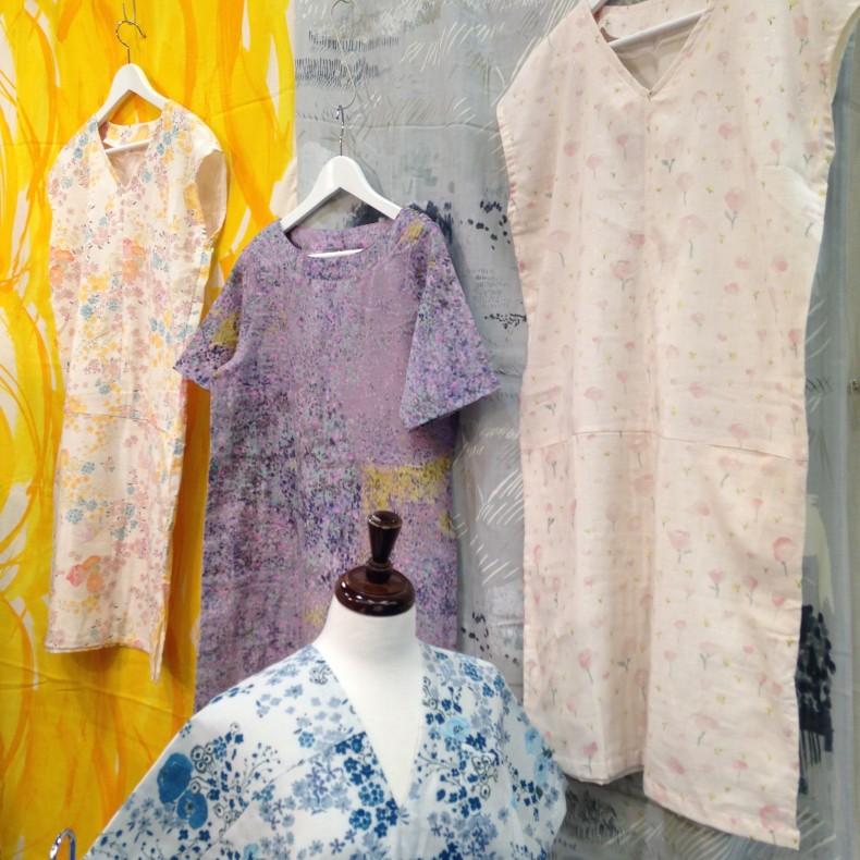 Nani Iro dresses at Quilt Market 2015