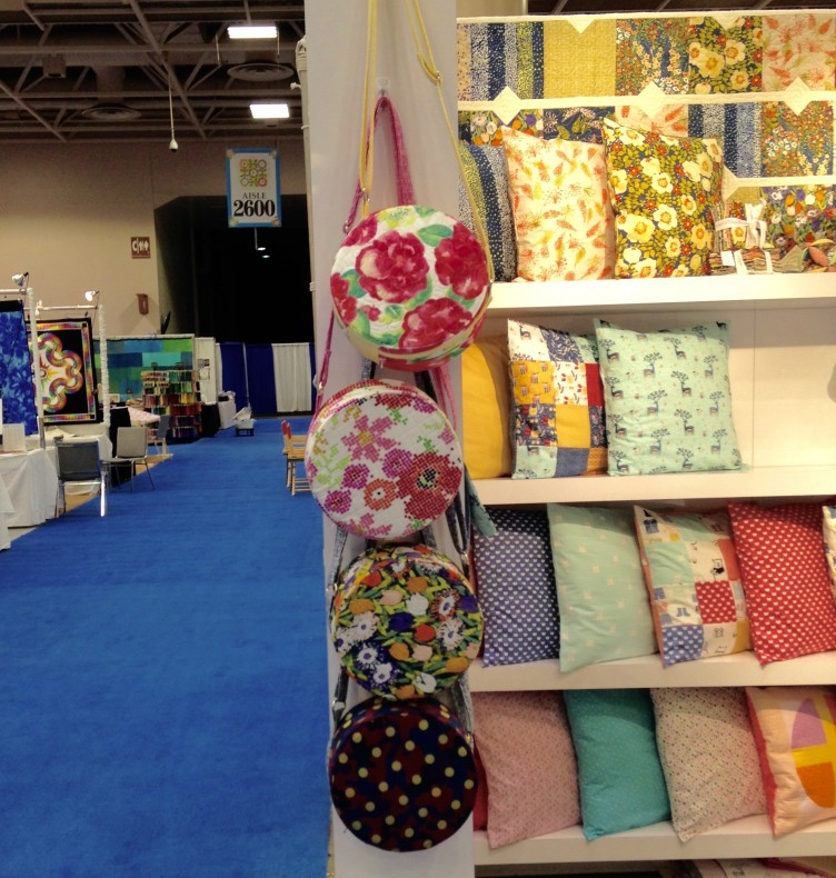Nest Egg Totes at the Dear Stella booth