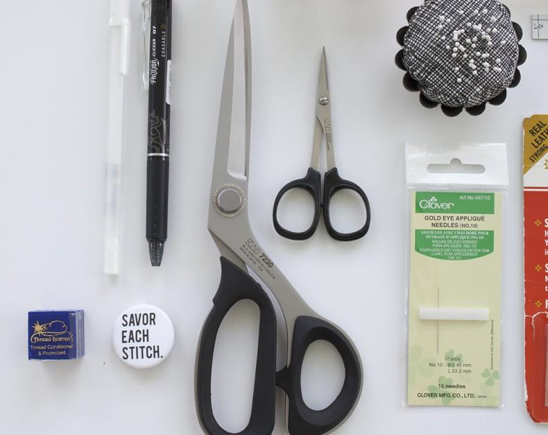applique tools_scissors_carolyn friedlander