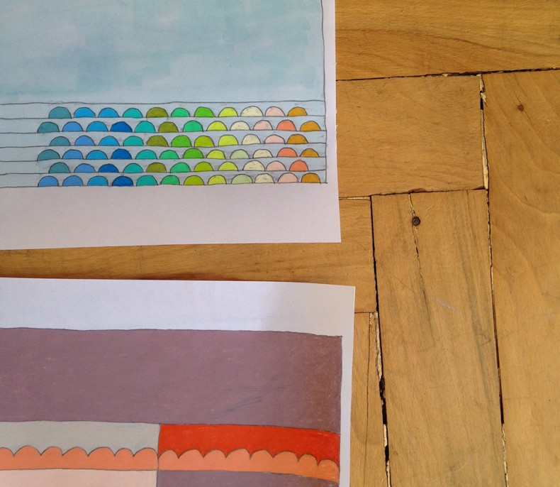 collection quilt_sketches_carolyn friedlander