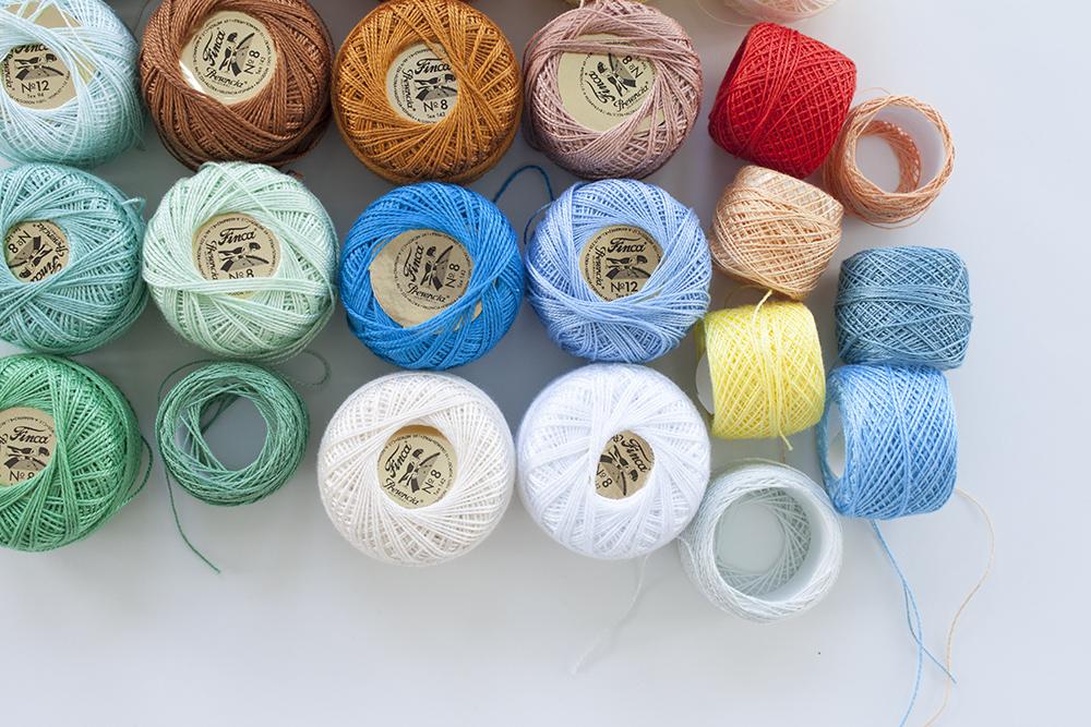 perle cotton thread_carolyn friedlander