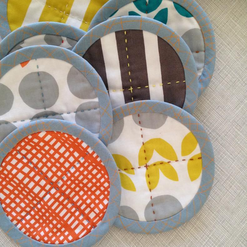 big stitch coasters_2_carolyn friedlander