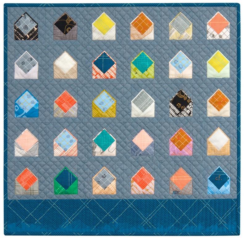 envelopes quilt pattern . carolyn friedlander
