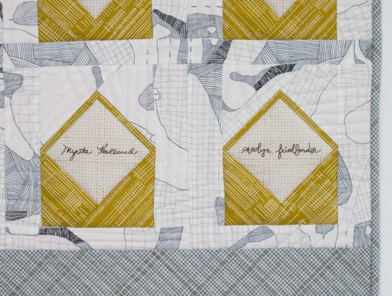 envelopes signature quilt . carolyn friedlander