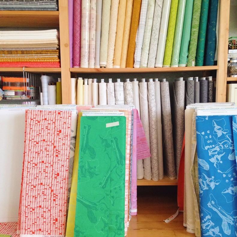 carkai fabric . carolyn friedlander