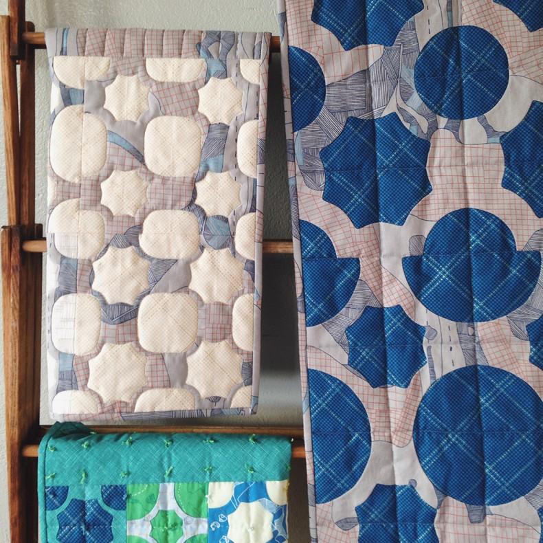 everglade quilts . carkai fabric . carolyn friedlander