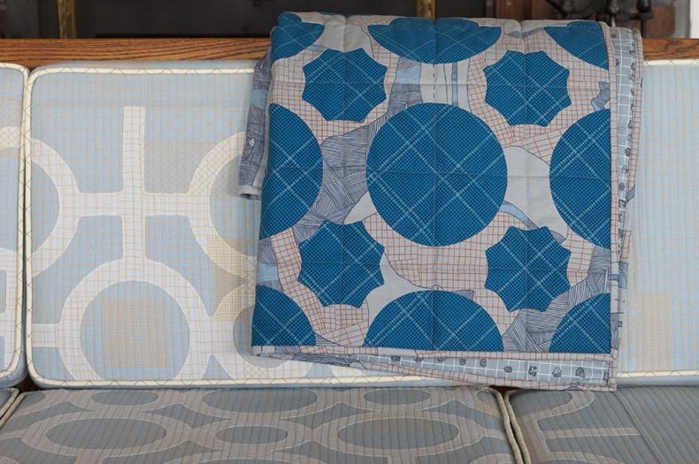 large block everglade quilt . carolyn friedlander